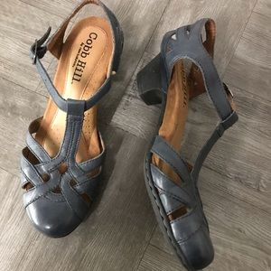 Cobb Hill by New Balance T strap sandal with heel